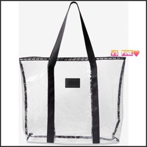 VS CLEAR LOGO TOTE